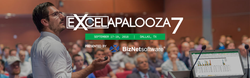 BizNet Software: Excelapalooza7