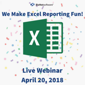 BizNet Software: We Make Excel Reporting Fun!